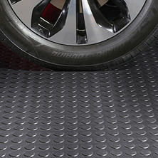 G-Floor 10 x 24 Garage and Utility Flooring - Coin Pattern