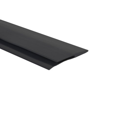 G-Floor 25' Edge Trim - Midnight Black