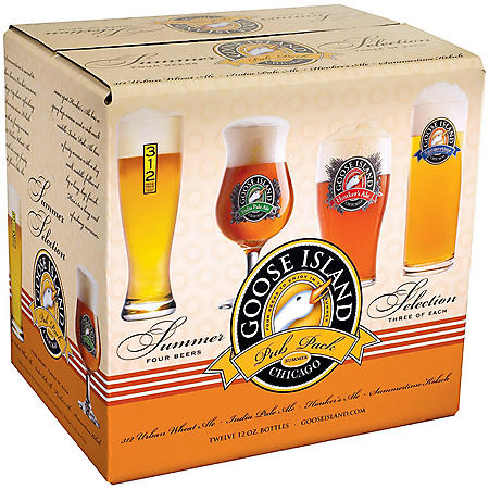 GOOSE ISLAND SAMPLER 12 / 12 OZ BOTTLES