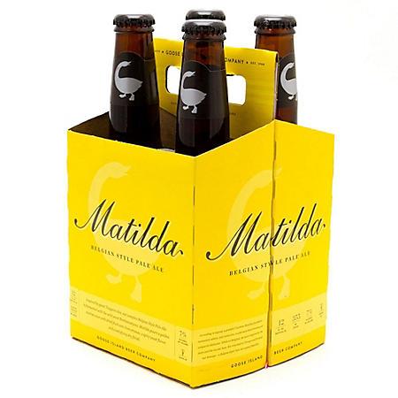 Goose Island Matilda Pale Ale (12 fl. oz. bottle, 4 pk.)