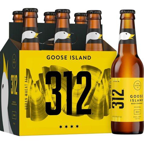 Goose Island 312 Urban Wheat Ale (12 fl. oz. bottle, 6 pk.)