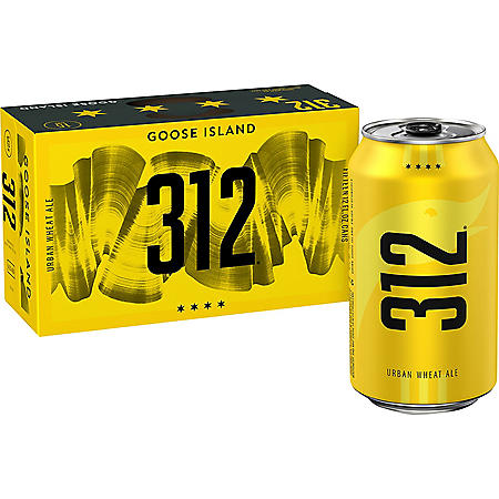 Goose Island 312 Urban Wheat Ale (12 fl. oz. can, 15 pk.)