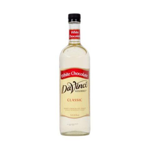 DaVinci Gourmet White Chocolate Beverage Syrup (750 ml)