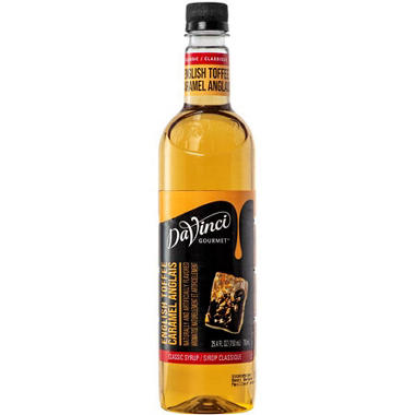 DaVinci Gourmet Flavored Syrup - English Toffee - 750ml