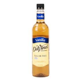 DaVinci Gourmet Sugar-Free Vanilla Beverage Syrup (750 ml)