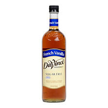 DaVinci Gourmet Sugar-Free French Vanilla Beverage Syrup (750 ml)