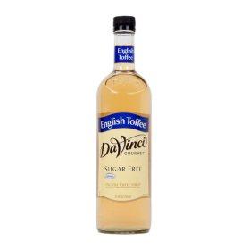 DaVinci Gourmet Sugar-Free English Toffee Beverage Syrup (750 ml)