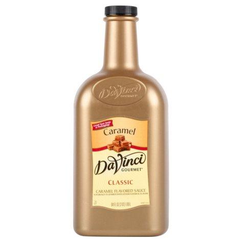 DaVinci Gourmet Caramel Sauce (1/2 gallon)