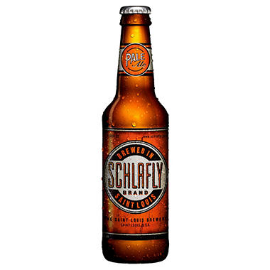 SCHLAFLY PALE ALE 12 / 12 OZ BOTTLES