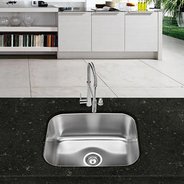 Stahl Stainless Large Single Bowl Kitchen Sink - Sam\'s Club