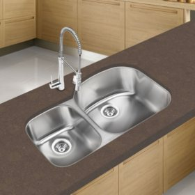 Stahl Stainless 30/70 Double Bowl Kitchen Sink