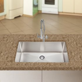 Stahl Handmade - Extra Large Single Bowl Kitchen Sink
