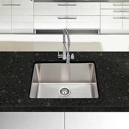 Stahl Handmade - Medium Single Bowl Kitchen Sink