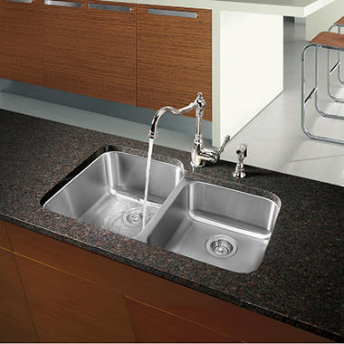 Charmant Blanco Stellar 1 3/4 Bowl Kitchen Sink