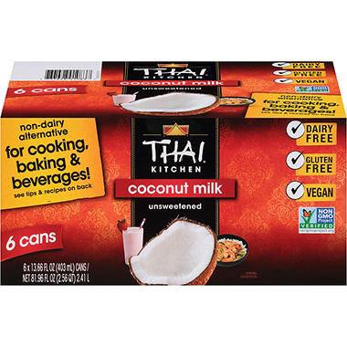 Thai Kitchen Coconut Milk thai kitchen coconut milk (13.66 fl. oz., 6 ct.) - sam's club