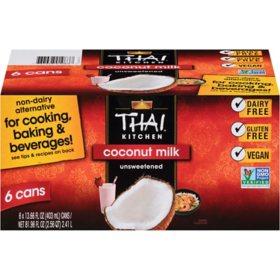 Thai Kitchen Coconut Milk (13.66 fl. oz., 6 ct.)