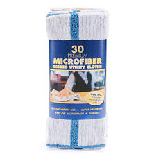 Commercial Microfiber Utility Cloths (30 ct.)