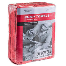 Hometex Commercial Cotton Blend Shop Towels (150 ct.)