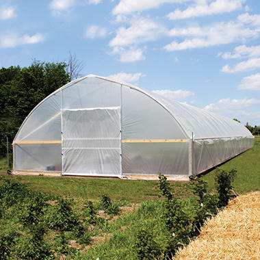 Poly-Tex FieldPro Gothic High Tunnel Greenhouse (30' x 72')