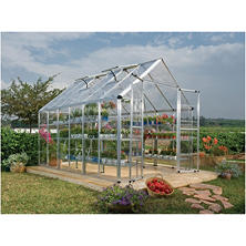 Palram 8' x 12' Snap & Grow Greenhouse - Starter Kit Bundle