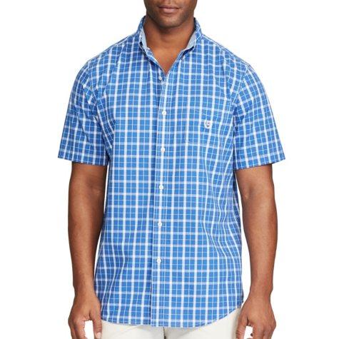 Chaps Men's Short Sleeve Button Down Shirt