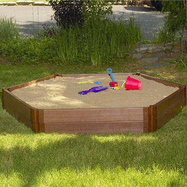 Hexagonal Sandbox - 7' × 8' × 12
