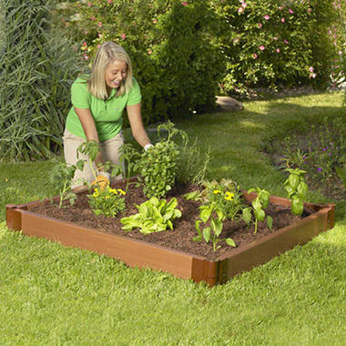 Raised Garden Bed - 4' × 4' × 6