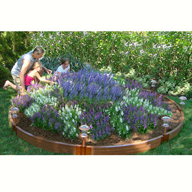 10.6' Diameter Circle Raised Garden Bed