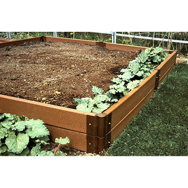 Raised Vegetable Garden - 8' × 8' × 12