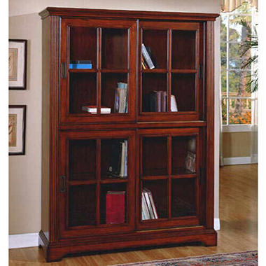 Beautiful Deluxe Glass Door Bookcase