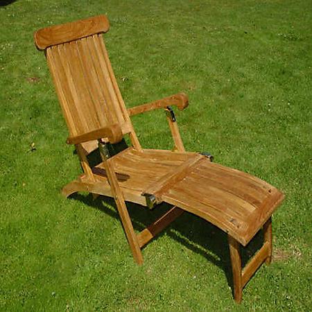 Teakwood Steamer Chair
