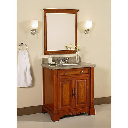 "Windsor 32"" Single Bowl Vanity with Granite Top"