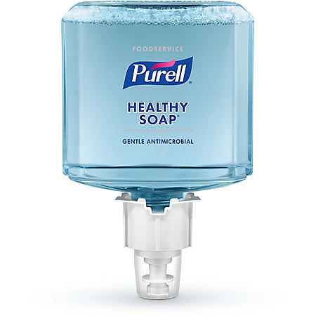 Purell Foodservice HEALTHY SOAP Antimicrobial Foam Refill, ES6 (1200ml, 2 pk.)