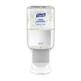 Purell Professional Hand Sanitizer ES6 Starter Kit, White Dispenser with 1200ml Gel Refill