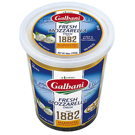 Galbani Marinated Fresh Mozzarella Cheese (28 oz.)