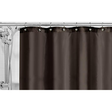 Fabric Shower Curtain Liner Assorted Colors