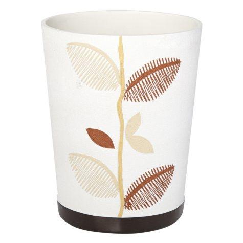 Alysia Ivory Tumbler, Leaf Design