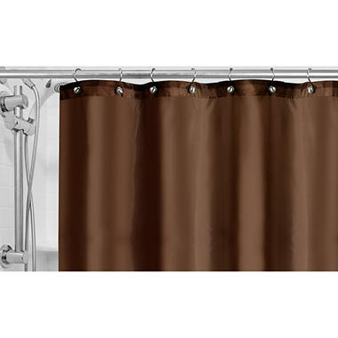 Pique Shower Curtain Liner - (Assorted Colors)