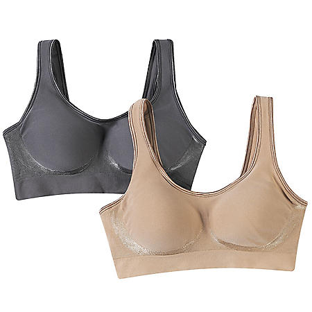 Bali Comfort Revolution Wire Free Shaping Bra- 2 Pack