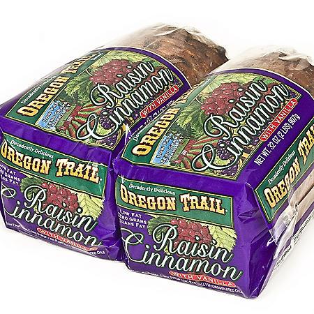 Oregon Trail Cinnamon Raisin Bread