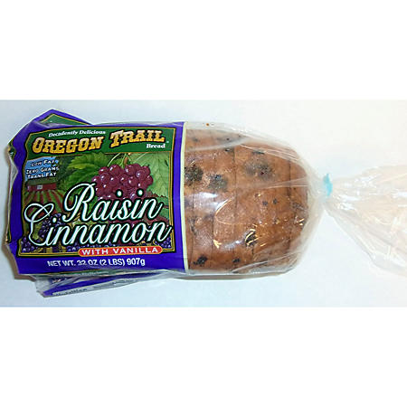 Oregon Trail Raisin Cinnamon w/ Vanilla Bread (32oz)