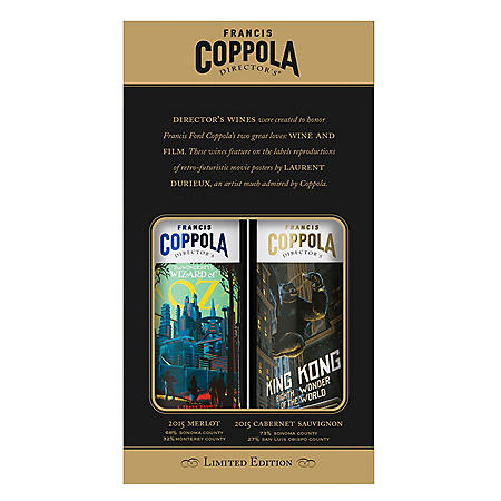 Francis Coppola Director's Great Movies Duet Pack (750 ml, 2