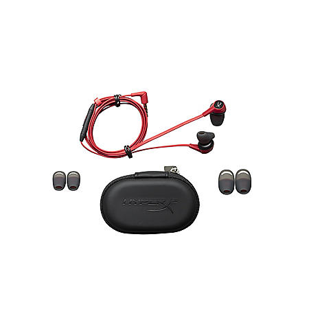 HyperX Cloud Red In-Ear Earbuds for Nintendo Switch