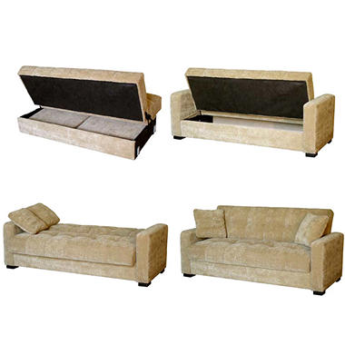 Brentwood Storage Sleeper Sofa Sam s Club