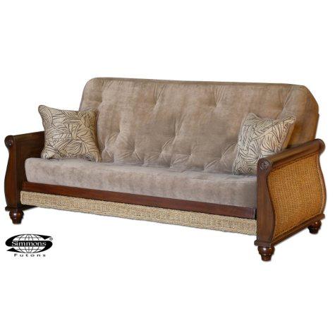 Simmons® Oceanside Futon Sleeper Sofa