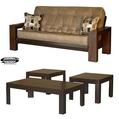 Simmons Chicago Futon Sleeper Sofa Set 4 Pc Sam 39 S Club