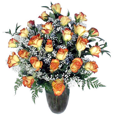 Rose Bouquet, Bi-Color (24 Stems)