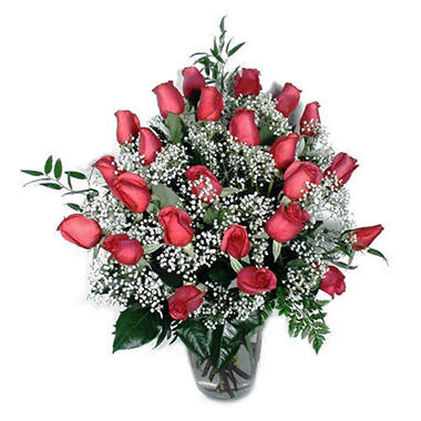 Rose Bouquet, Hot Pink (24 Stems)