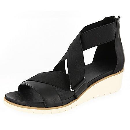 Mia Strappy Wedge Sandal