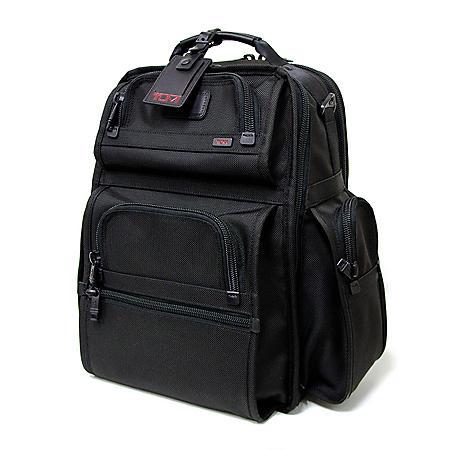 Tumi Alpha - T-Pass Business Class Brief Pack - Black
